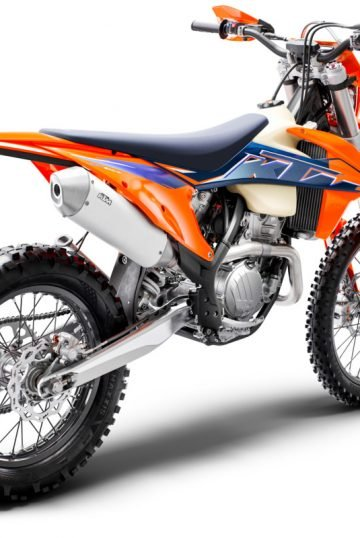 378293_350 EXC-F MY22 Rear-Right